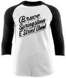 BRUCE SPRINGSTEEN - LOGO (BASEBALL SHIRT) T-shirts