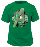 The Incredible Hulk - Assemble T-shirts