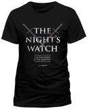 Game Of Thrones - Nights Watch T-skjorte