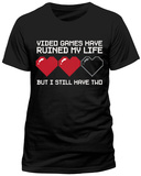 Two Hearts Left Camisetas
