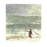 Lone Fisherman 4, 2015 Giclee Print by Lincoln Seligman