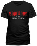 THE SOPRANOS - NEW JERSEY T-shirts