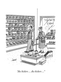 """Ass kickers ... Ass kickers ..."" - New Yorker Cartoon Premium Giclee Print by Tom Cheney"
