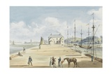 Turf Entrance to Exeter Canal, 1829 Giclee Print by Captain George Tobin