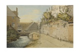 Exeter: Between the Quay Gate and West Gate Outside the City Walls, 1791 Giclee Print by Francis Towne