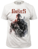 The Punisher - Watercolor portrait T-shirts