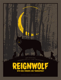 Reignwolf Serigraph by Mike Klay