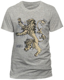 GAME OF THRONES - LANNISTER LION T-skjorter