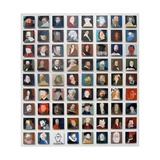72 Artist Self Portraits, 2010 Giclee Print by Holly Frean