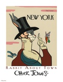 Wabbit About Town - Eustace Tilley Giclee Print by Chuck Jones