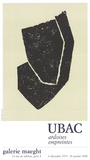 Ardoises Empreintes Collectable Print by Rodolphe Raoul Ubac