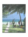 Coconut Man Calls, Sri Lanka, 2015 Giclee Print by Lincoln Seligman