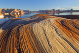 Utah. Weathering Pit Ridge at Lake Powell Photographic Print by Jaynes Gallery