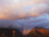 Hawaii, Maui, Rainbow over the Western Mountains of Maui Photographic Print by Christopher Talbot Frank