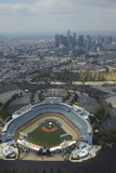 Los Angeles, Dodger Stadium, Home of the Los Angeles Dodgers Fotografisk tryk af David Wall