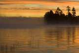 USA, New York, Adirondack Mountains. Racquette Lake at Sunrise Photographic Print by Jaynes Gallery