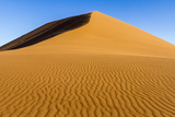 Africa, Namibia, Namib Naukluft National Park. Patterns in Sand Dune Photographic Print by Jaynes Gallery