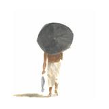 Umbrella and Fish, 2015 Impression giclée par Lincoln Seligman