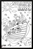 Noah's Ark Coloring Posters