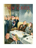The New Yorker Cover - October 21, 1944 Premium Giclee Print by Constantin Alajalov