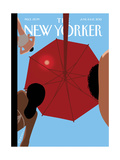 The New Yorker Cover - June 8, 2015 Regular Giclee Print by Christoph Niemann