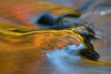 USA, Michigan, Upper Peninsula. Bond Falls Reflections in Fall Photographic Print by Jaynes Gallery