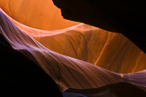 Arizona, Upper Antelope Canyon. Sandstone Formations in Slot Canyon Photographic Print by Jaynes Gallery
