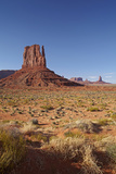 Utah. Arizona Border, Navajo Nation, Monument Valley, West Mitten Photographic Print by David Wall