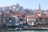 Porto, Portugal from the Douro River Photographic Print by Susan Degginger