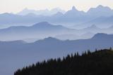 Mount Rainier National Park, Cascade Mountains Photographic Print by Ken Archer