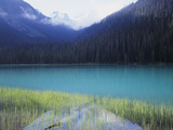 Joffre Lakes Provincial Park, Lower Joffre Lake Color by Glacial Silt Photographic Print by Christopher Talbot Frank