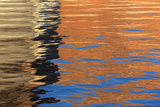 Utah, Glen Canyon Nra. Abstract of Cliff Reflection in Lake Powell Photographic Print by Jaynes Gallery