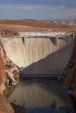 Glen Canyon Dam across Colorado River Arizona Photographic Print by David Wall
