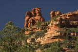 King and Three Queens, Fay Canyon, Coconino Nf, Sedona, Arizona Photographic Print by Michel Hersen