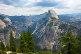 California, Yosemite National Park, Half Dome, North Dome and Mount Watkins Photographic Print by Bernard Friel