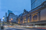 USA, New York, Grand Central Terminal at Dawn Photographic Print by Rob Tilley