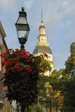 Historic Maryland State House in Annapolis, Maryland Photographic Print by Jerry Ginsberg