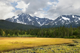 USA, Alaska, Kenai Peninsula. Early Autumn Landscape Photographic Print by Jaynes Gallery