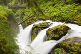 Wa, Olympic National Park, Sol Duc Falls Photographic Print by Jamie And Judy Wild