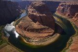 Horseshoe Bend, 1000 Ft. Drop to Colorado River Photographic Print by David Wall