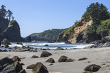 Trinidad, California. the Beach at Trinidad State Beach Photographic Print by Michael Qualls