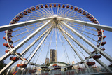 Illinois, Chicago. Ferris Wheel at Navy Pier Photographic Print by Jaynes Gallery