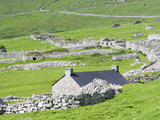Scotland, St Kilda Islands, Hirta Island, Abandoned Settlement Photographic Print by Martin Zwick