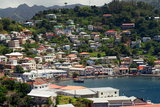 The Carenage, St. Georges, Grenada, British West Indies Photographic Print by Susan Degginger