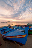 Colorful Fishing Boats of Alvor, Portugal Photographic Print by Susan Degginger