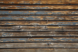 Colorado, San Juan Mts, Peeled Paint on Old Weatherboards, Silverton Photographic Print by David Wall