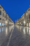 Croatia, Dubrovnik, Stradun at Dawn Photographic Print by Rob Tilley
