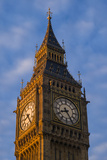 England, London, Victoria Embankment, Parliament, Big Ben, Dawn Photographic Print by Walter Bibikow