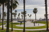 California, Los Angeles, Venice, Beachfront Park Photographic Print by Walter Bibikow