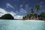 Palau, Honeymoon Island, Rock Islands Photographic Print by Stuart Westmorland